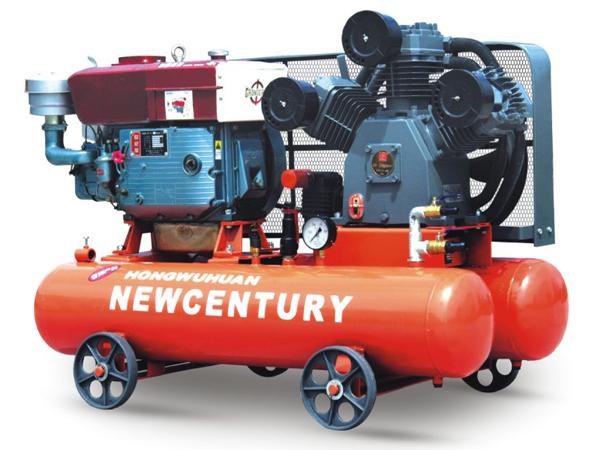 Máy nén khí ống tre